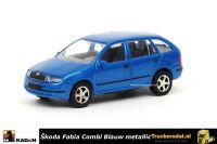 Kaden 385745 Skoda Fabia Combi 2005 Blauw metallic
