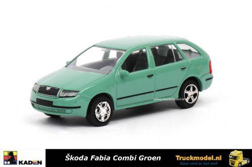 Kaden 385745 Skoda Fabia Combi Groen