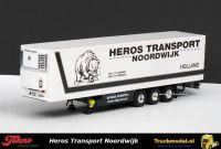 Tekno 54077A Heros Transport Noordwijk Koeloplegger Thermo King koelmachine