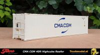 Tekno 76577 CMA CGM 40ft Highcube Reefer container