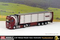 WSI 72-2136 1 op 87 Model Vaex Scania S Veetrailer