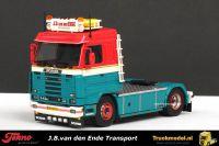 Tekno 72661 J.B.van den Ende Monster Scania 143 Topline Streamline trekker