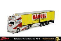 Tekno 74853 Tallaksen Hakull Noorwegen Scania S HL Schuifzeiltrailer met deuren