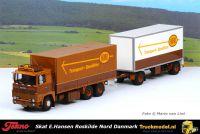 Tekno 75626 Skat E.Hansen DK Nord Scania LBS141 combi