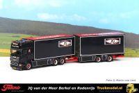 Tekno 76280 JQ van der Meer Scania R620 Topline wipkar combi