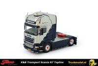 Tekno 80715 K&B Transport Scania R Streamline Topline trekker
