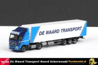 Herpa 151108 De Waard Transport Volvo FH koeloplegger