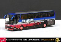 Herpa 174718 Kässbohrer-Setra S315 HDH Reisbus Medenbach On Tour
