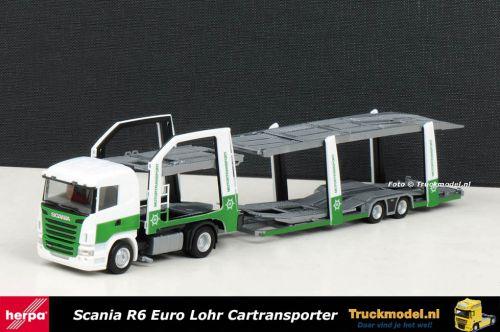 Herpa 301268 Motortransport AB Scania Euro Lohr Cartransporter