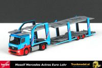 Herpa 302906 Mosolf Mercedes Eurolohr autotransporter