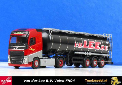 Herpa 303583 van der Lee BV Volvo FH Tankoplegger