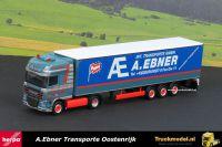 Herpa 304153 A.Ebner Transporte DAF XF105 SSC schuifzeiloplegger