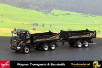 Herpa 304160 Wagner Transporte Scania R490 kipper combinatie