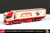 Herpa Frank de Ridder Scania R144 Topline koeloplegger