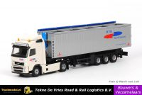 BV0021 De Vries Road & Rail Logistics Volvo FH kippertrailer