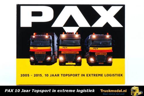 PAX 2005  2015 10 Jaar topsport in extreme logistiek