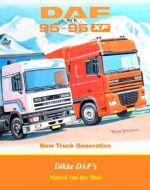 Boek Daf F95 en 95 XF New Truck Generation Dikke Dafs
