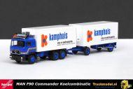 Herpa WDV Kamphuis Barneveld MAN F90 Commander koelcombinatie