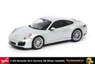 Herpa 071055 Porsche 911 Carrera 4S Zilver metallic
