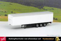 Herpa 076111-002 Walkingfloortrailer met afneembaar dekzeil