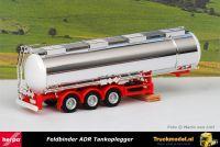 Herpa 076456-002 Feldbinder 4 Kamer ADR Tankoplegger