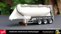 Herpa 076821 Feldbinder 40m3 onderlosser bulkoplegger