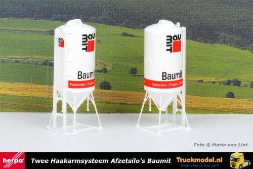 Herpa 076883 Baumit Haakarm afzet silo set