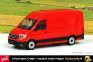 Herpa 092982-002 VW Crafter 2016 Hoogdak Bestelwagen