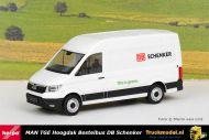 Herpa 095334 DB Schenker MAN TGE Hoogdak bestelwagen