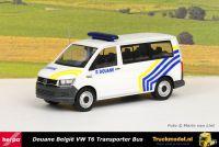 Herpa 095396 Douane Belgium Volkswagen T6 Bus