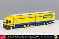Herpa 145671 Schmitt Peterslahr Mercedes Actros L 2540 schuifzeilen combi