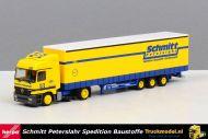 Herpa 146661 Schmitt Peterslahr Spedition Mercedes Mega trailer