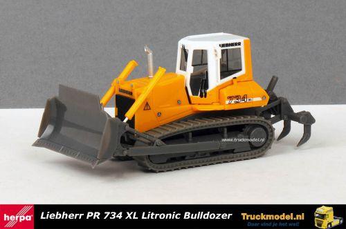 Herpa 151689 Liebherr PR 734 XL Litronic Bulldozer met Ripper