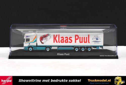 Herpa 1694 Klaas Puul Edam Scania R580 TL Koeltrailer