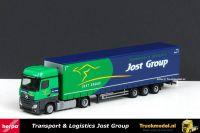 Herpa 1806 Jost Group Mercedes-Benz Actros BigSpace trekker Megatrailer