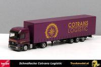 Herpa 246026 Schnellecke Wolfsburg Cotrans Logistic Mercedes Megatrailer