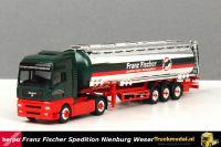 Herpa 246606 Franz Fischer Nienburg Weser MAN TGA Tanktrailer