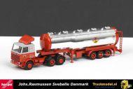 Herpa 273 Collectors Item Johs.Rasmussen Svebølle Danmark Scania 142 sleepas trekker zwanenhals tankoplegger
