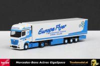 Herpa 301466 Europe Flyer B.V. Mercedes Actros Gigaspace Koeltrailer