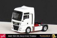 Herpa 301695-004 MAN TGX XXL Euro 6 4x2 Trekker wit