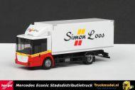 Herpa 303309 Simon Loos Mercedes Econic Koeldistributie truck