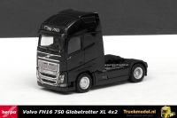 Herpa 303620 Volvo FH16-750 Globetrotter XL 4x2 Trekker Zwart