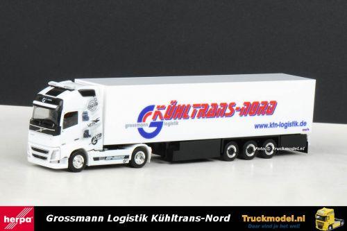 Herpa 303682 Grossmann Kuhltrans Nord KTN Volvo FH460 Globetrotter XL Koeltrailer