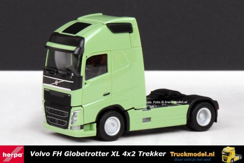 Herpa 303972 Volvo FH4 Globetrotter XL 4x2 trekker Groen