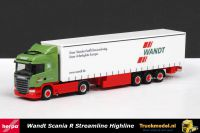 Herpa 303996 Wandt Scania R Highline Streamline schuifzeiloplegger