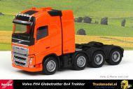 Herpa 304788-006 Volvo FH4 Globetrotter 8x4 Trekker Oranje