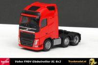 Herpa 305556-002 Volvo FH04 Globetrotter XL 6x2 voorloopas trekker Rood