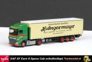 Herpa 306096 H.Angermayr DAF XF Euro 6 Space Cab schuifzeiloplegger