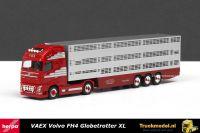 Herpa 306201 VAEX Veetransport Reek Volvo FH04 Globetrotter XL veetrailer