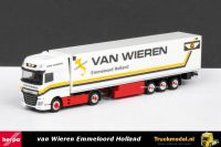 Herpa 306256 Van Wieren Emmeloord DAF XF Euro 6 Super Space Cab koeloplegger